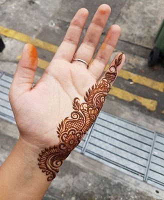 300+ Easy Henna Designs For Beginners On Hands (2019) Simple