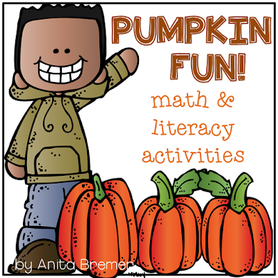 Lots of fall pumpkin activities and pumpkin learning ideas for Kindergarten! Includes anchor chart, measurement, pumpkin life cycle, and lots of fun activities. For Kindergarten and First Grade. #pumpkins #kindergarten #1stgrade #fall #pumpkinlifecycle