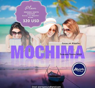 imagen plan semana santa casa en mochima