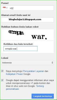 cara membuat email google