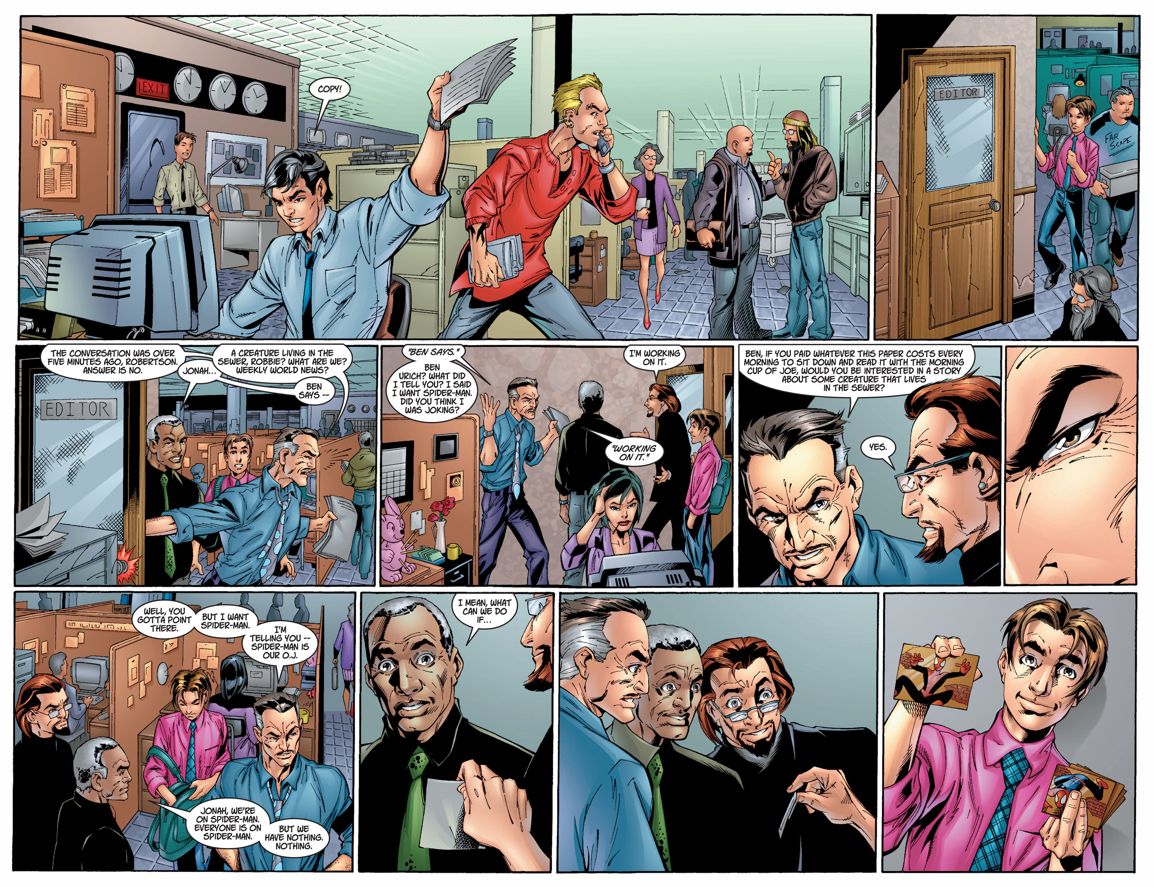 Read online Ultimate Spider-Man (2000) comic -  Issue #8 - 10