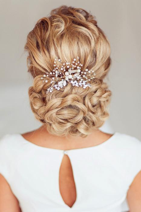 peinados d novias sencillos