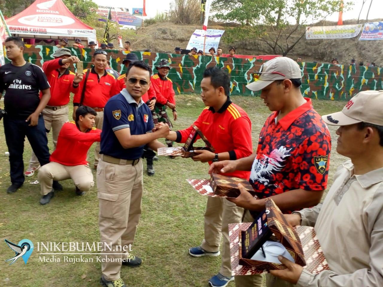 Mantap! Polisi Asal Kebumen ini Berhasil Jadi Penembak Terbaik di Polda Jateng