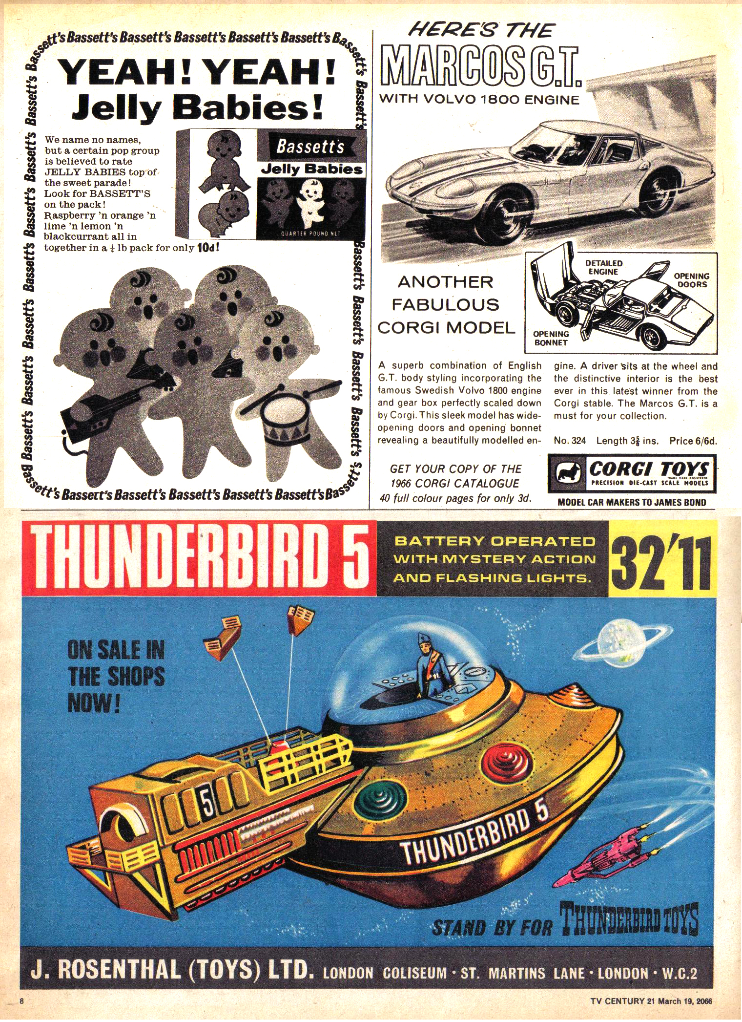 Read online TV Century 21 (TV 21) comic -  Issue #61 - 8