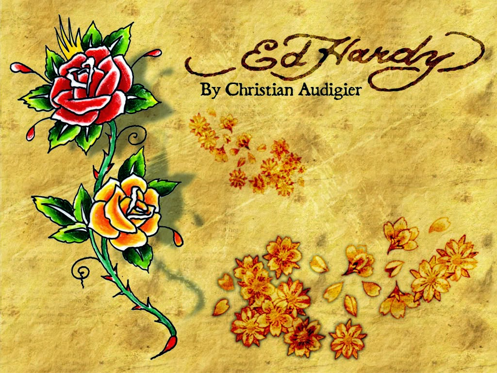 Cute hd pictures wallpapers ed hardy - Ed hardy designs wallpaper ...