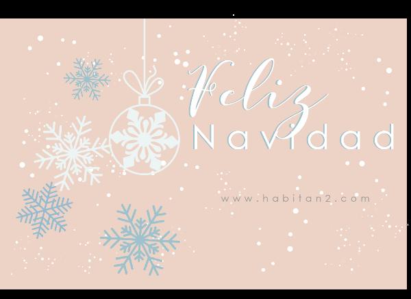 Descargable felicitación navideña diseño de Habitan2 | Diseño gráfico personalizado | Gatito y unicornio , lámina de felicitación navideña