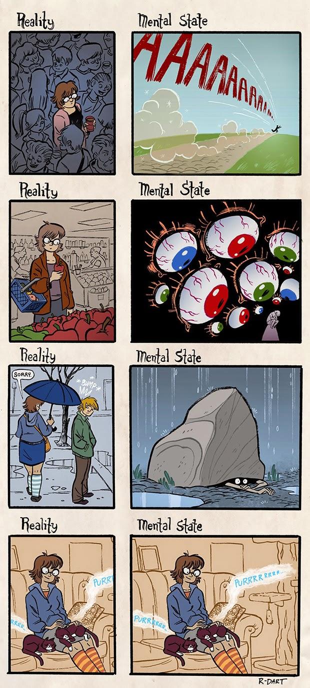 Anxiety Vs. Reality