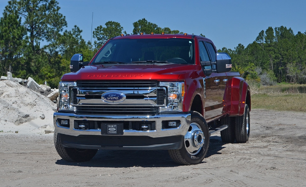 2017 Ford F-450 Super Duty Diesel 4x4 Review