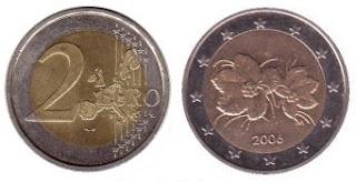 suomi 2€ kolikko