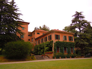 The Villa Marescalchi, outside Casalecchio di Reno