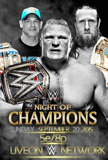 WWE Night of Champions 2015 PPV HDTVRip 480p 700mb