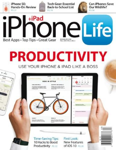 Download iPhone Life Magazine Volume 8 Issue 3 2016 PDF