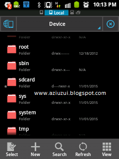 Root Folder ES File Explorer