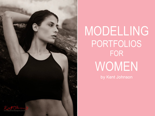Modelling portfolios for women by Kent Johnson, Sydney, Australia.