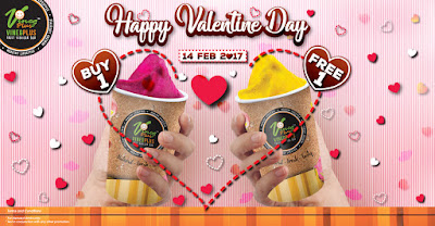 VinegPlus Bar Fruit Vinegar Buy 1 Free 1 Valentine Day Promo