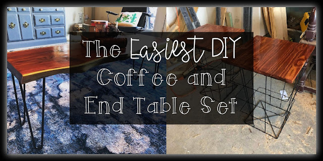 The Easiest Coffee and End Table Set