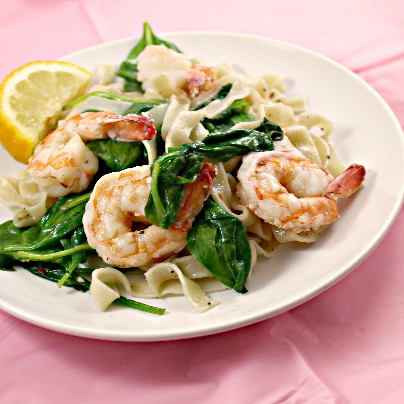 Florentine Shrimp and Pasta advise