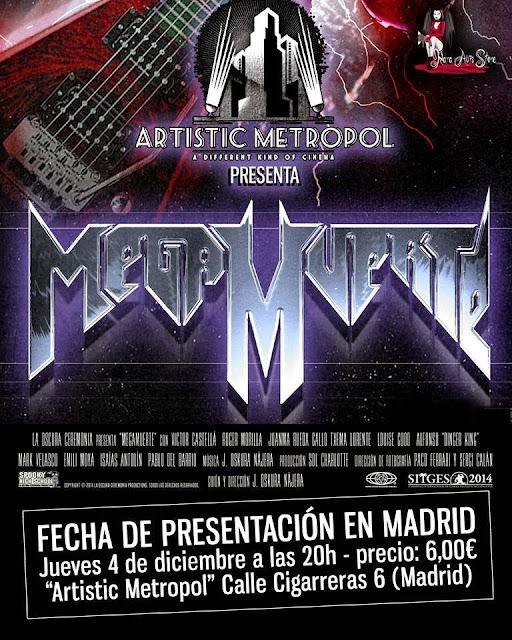 "El film ""MegaMuerte"" llega a Madrid"
