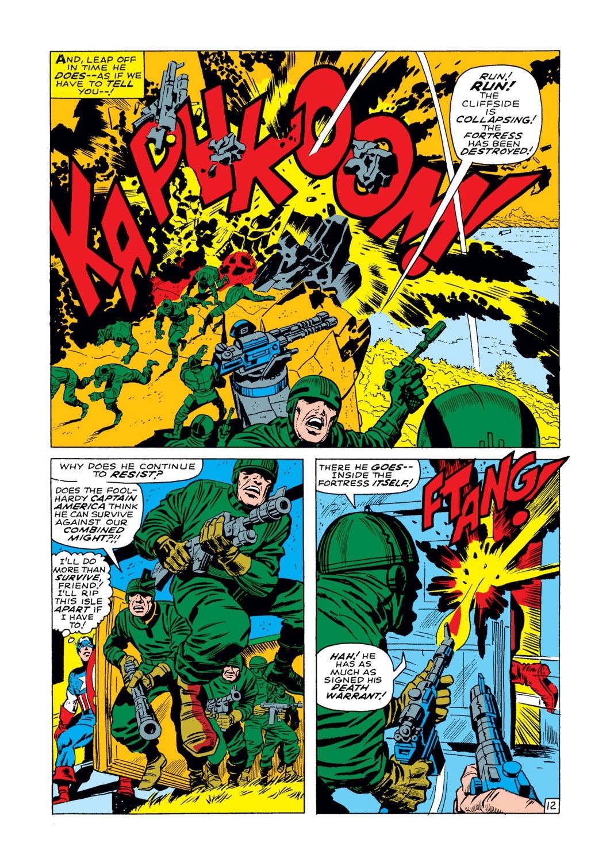 Captain America (1968) Issue #103 #17 - English 13