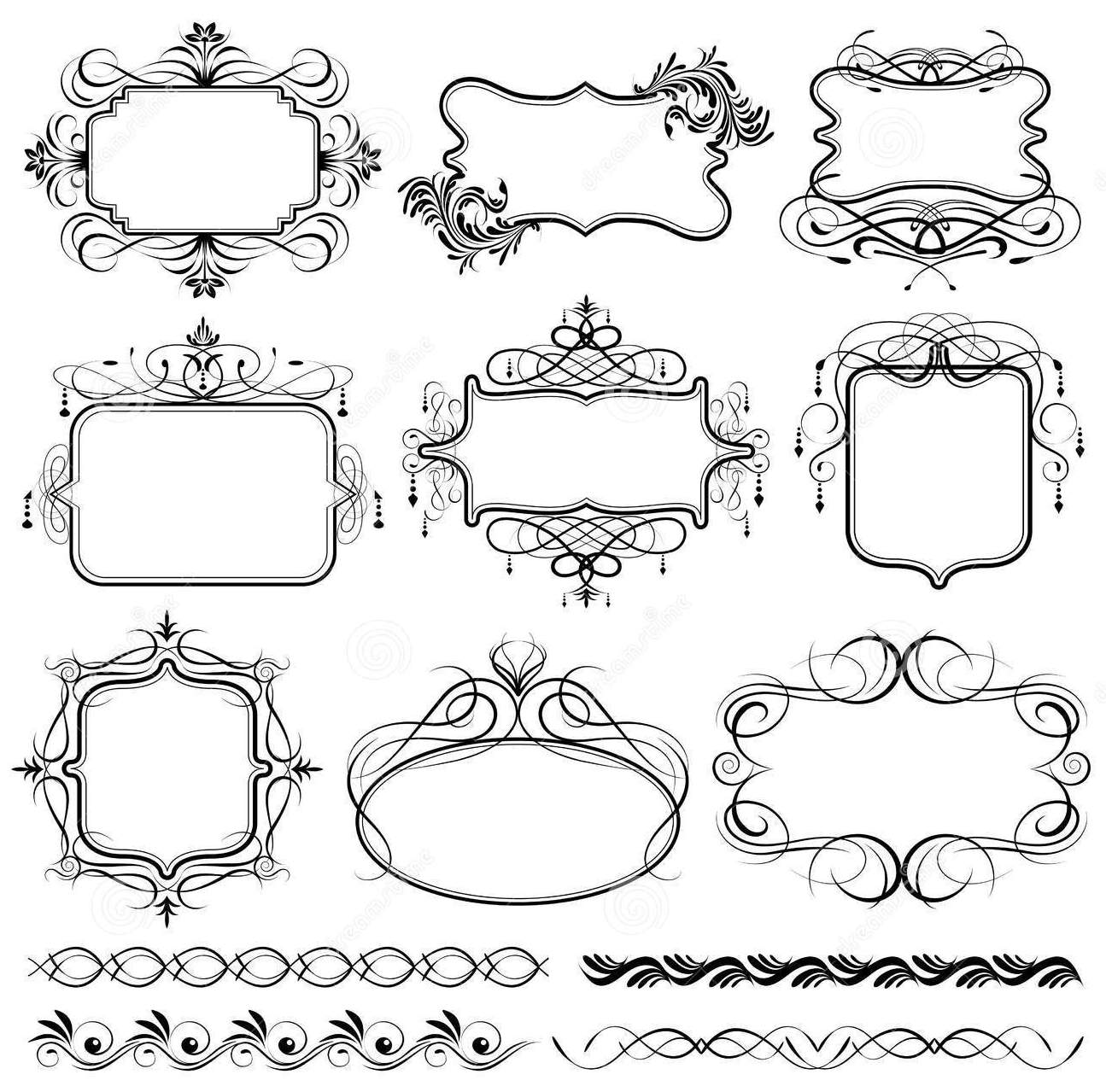 so cute free printable vintage frames. | oh my first communion!
