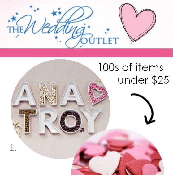 The Wedding Outlet: The Perfect Palette