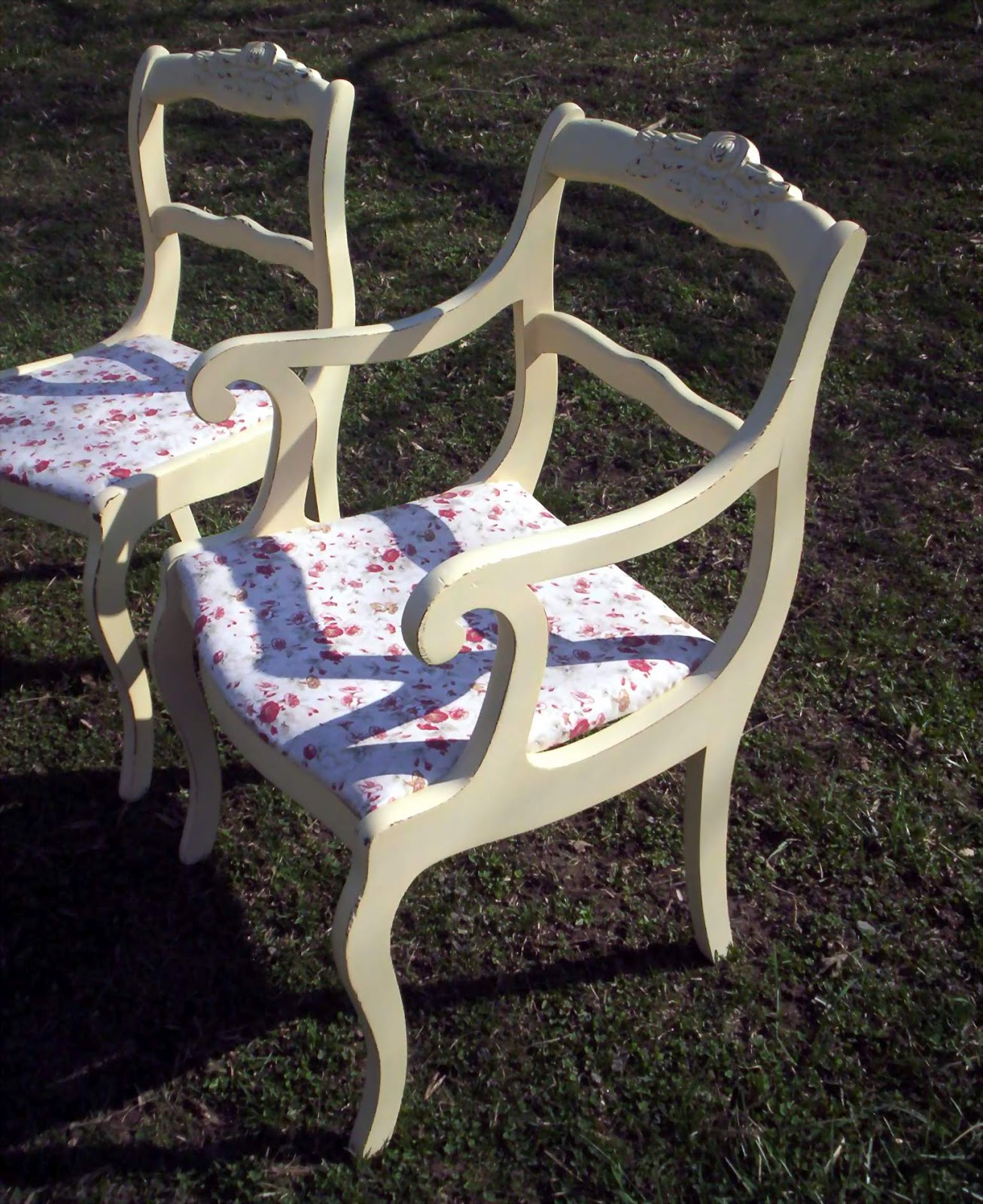 My Painted Stuff: The Duncan Phyfe Chairs