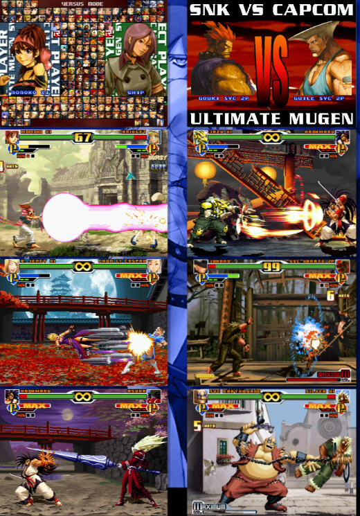 Snk vs capcom Ultimate mugen 2007