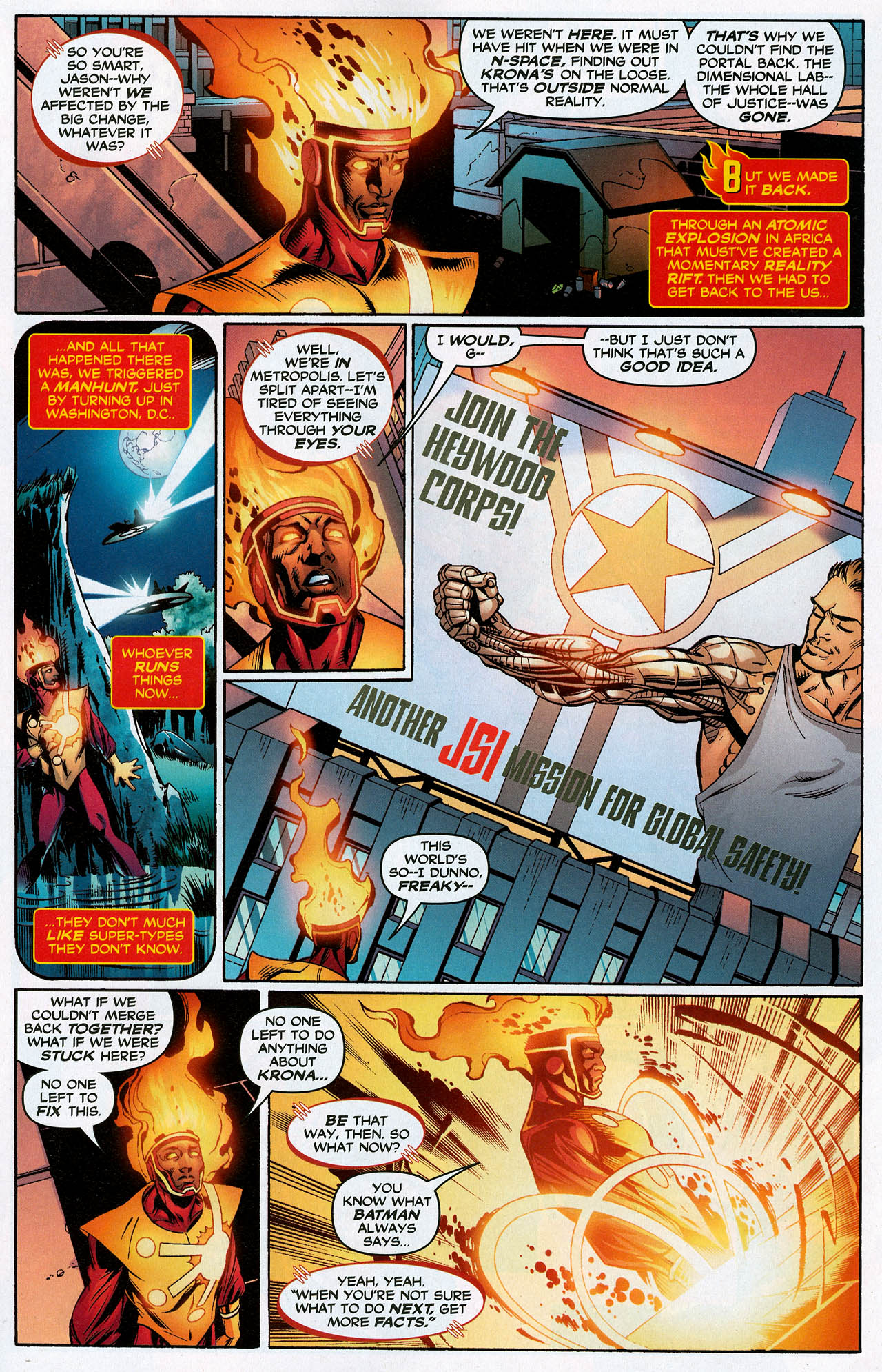 Read online Trinity (2008) comic -  Issue #20 - 5