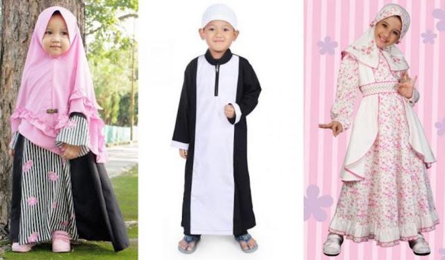 Ini Dia Tips Mudah Memilih Baju Lebaran Anak
