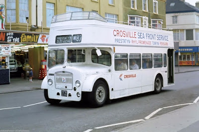 Crosville open top bus