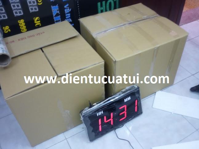 (KH Cty Việt Pháp) - Đồng hồ điện tử treo tường 4 số đa năng