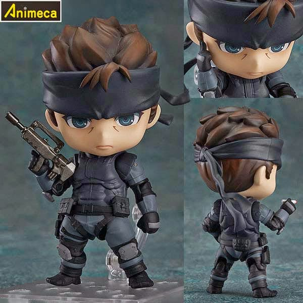 FIGURA SOLID SNAKE NENDOROID Metal Gear Solid