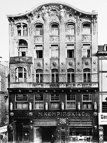 Ресторан M. Kempinski & Co.