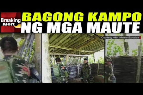 PINAKITA NA ANG BAGONG KAMPO NG M A U TE GROUP