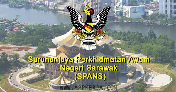 Pemohanan online di Suruhanjaya Perkhidmatan Awam Negeri Sarawak (SPANS) - 27 April 2018