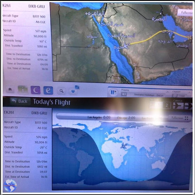 Voando Emirates Airlines