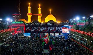 العراق : كربلاء المقدسة تستضيف 45 الف زائر ايراني في يوم عرفة