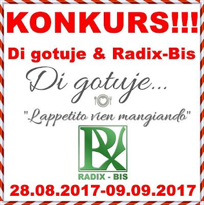KONKURS - Di gotuje & Radix-Bis - do wygrania 3 zestawy super produktów!