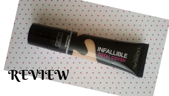 opinion de la base Loreal Infallible Total Cover