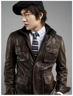 Gambar Jaket Kulit Lee Min Ho Film City Hunter