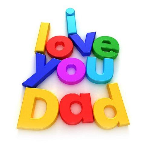 i love u daddy