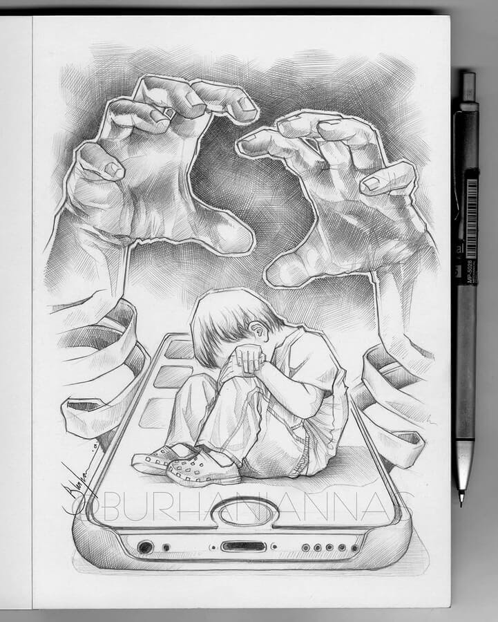 06-Alone-and-frightened-Nas-Pencil-Drawings-www-designstack-co