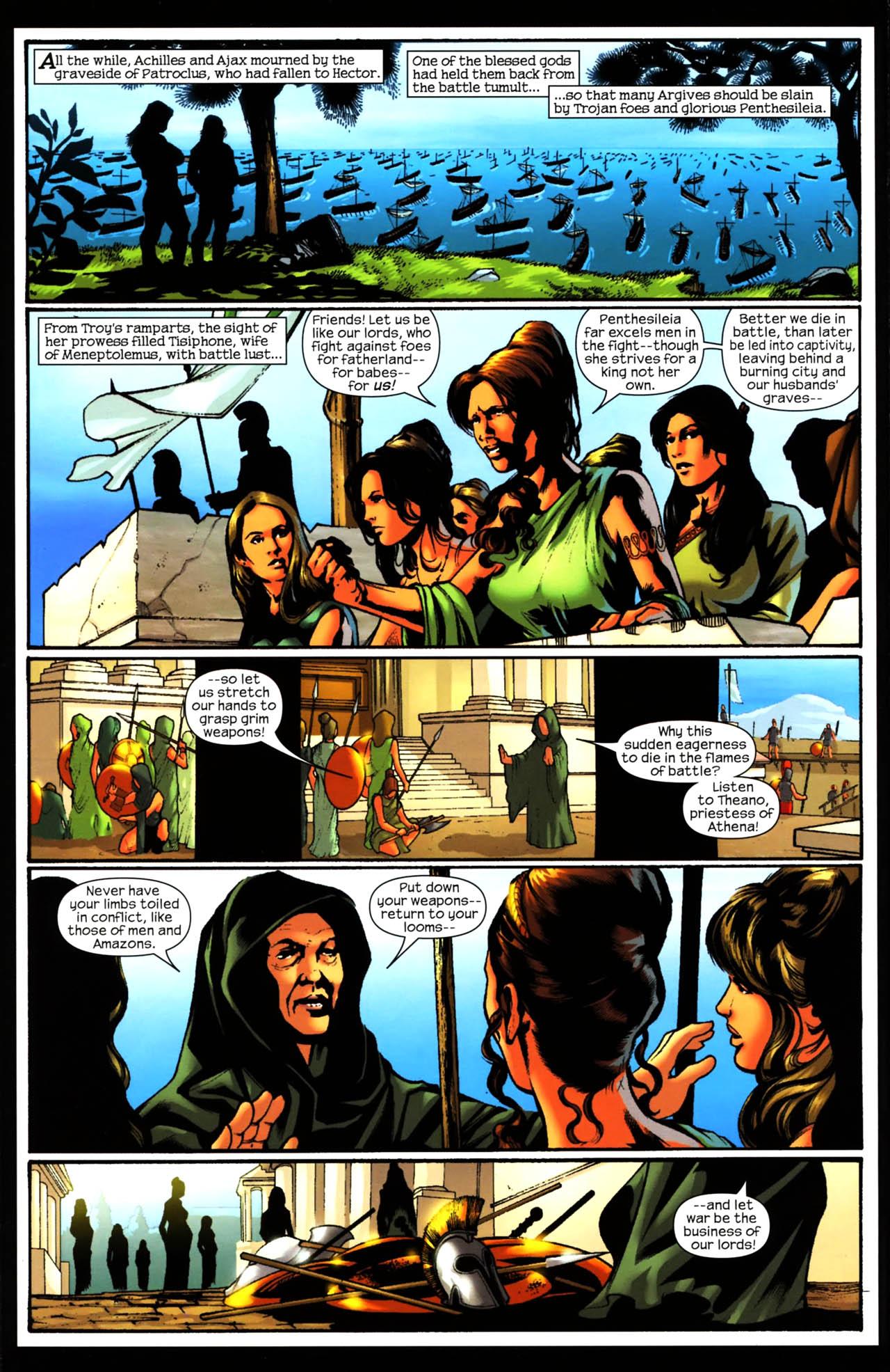 Read online Trojan War comic -  Issue #3 - 10