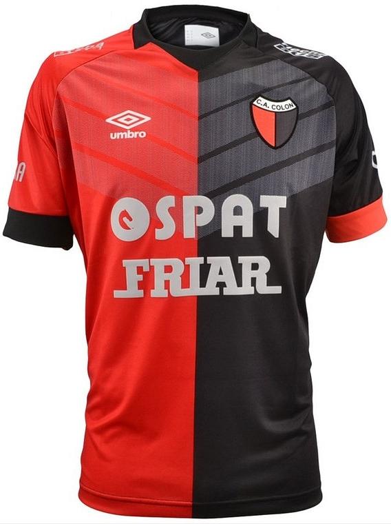 a5dd03eb63ded Umbro lança novo uniforme titular do Colón de Santa Fe - Show de Camisas