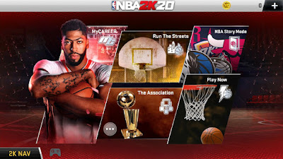 NBA 2K20 Mod Apk + OBB For Android