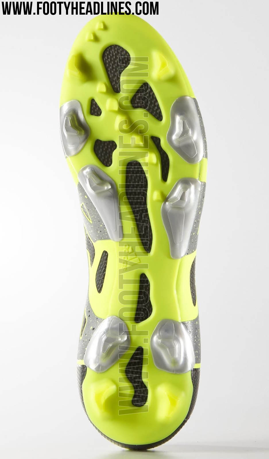 Discount Grey   Yellow Adidas X 2015-2016 Reflective Boots Released 9e0e689c4ed4e