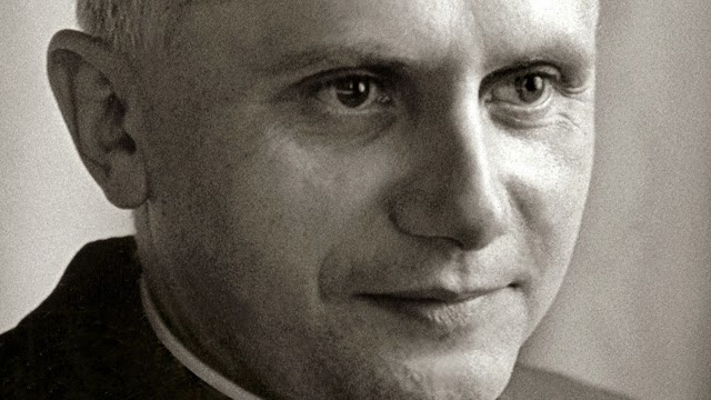 Joseph Ratzinger as a young man