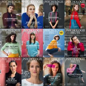 PSYCHOLOGIE  - Psychologie Heute - 2016 Full Year Issues Collection