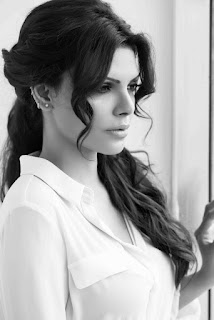 Sherlyn Chopra in Black & White