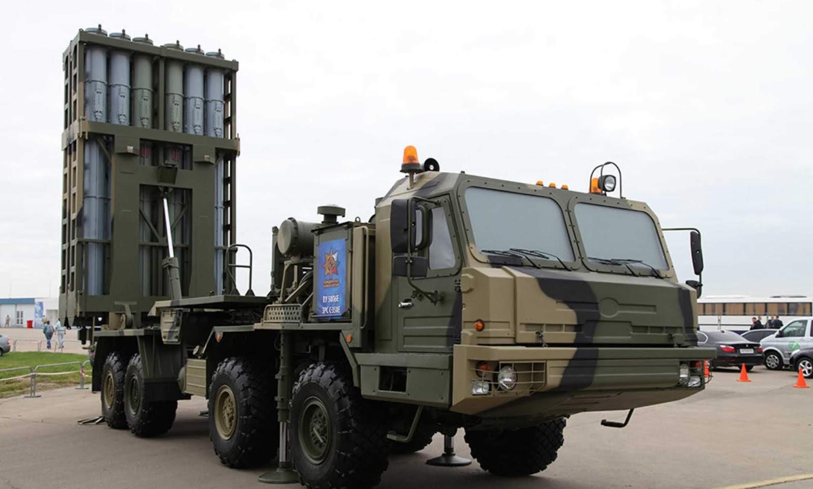 Tahap akhir tes negara dari sistem rudal pertahanan udara Vityaz sedang berlangsung